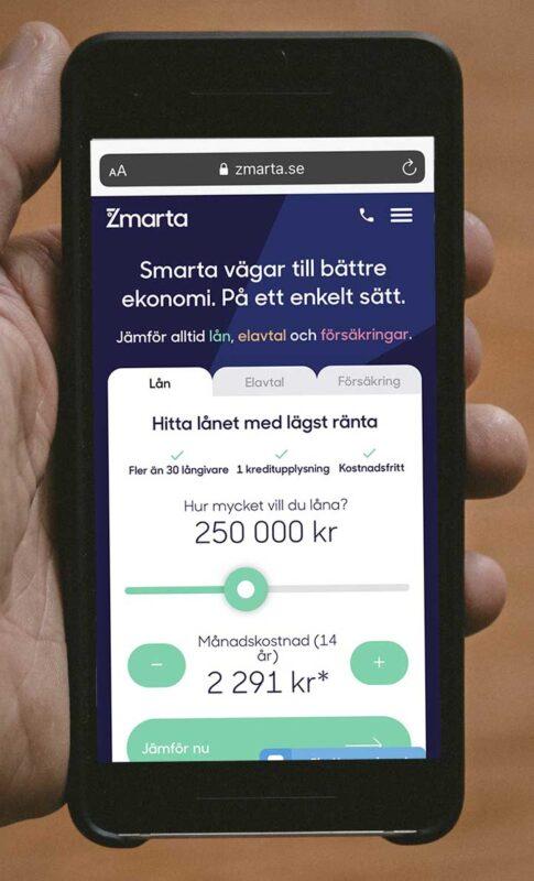 krav för att ansöka hos Zmarta lån