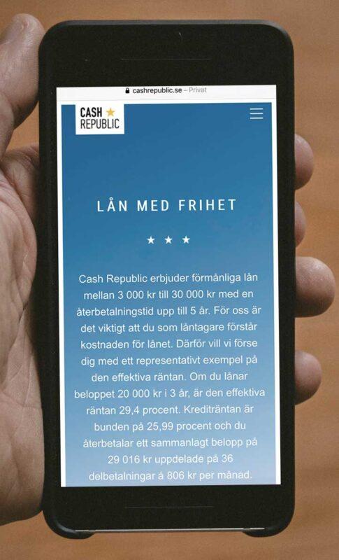 Cash republic kontakt och omdömme