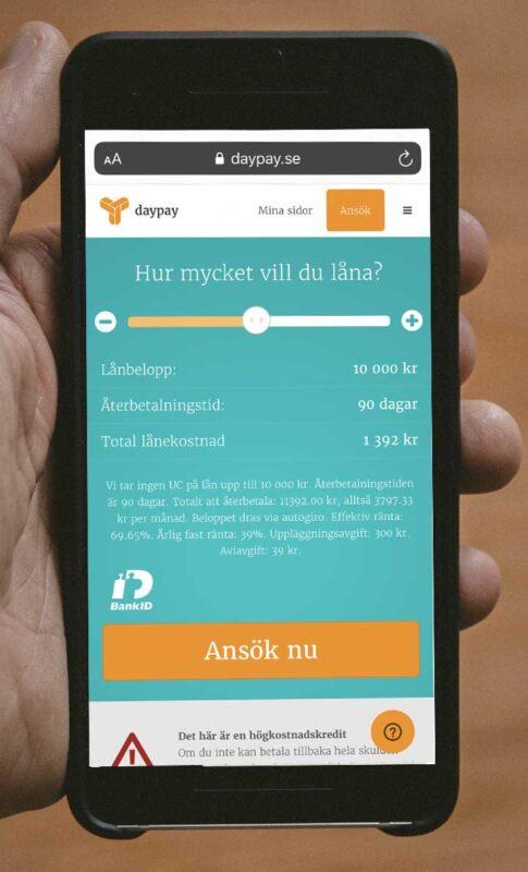 Daypay öppettider och kontakt