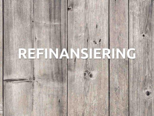 refinansiering hos en låneförmedlare