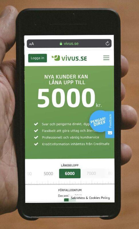 Vivus Gratis lån